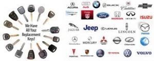 We offer car keys for all makes and models
